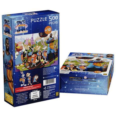 Puzzle Space jam C/ 500 Peças  - Grow