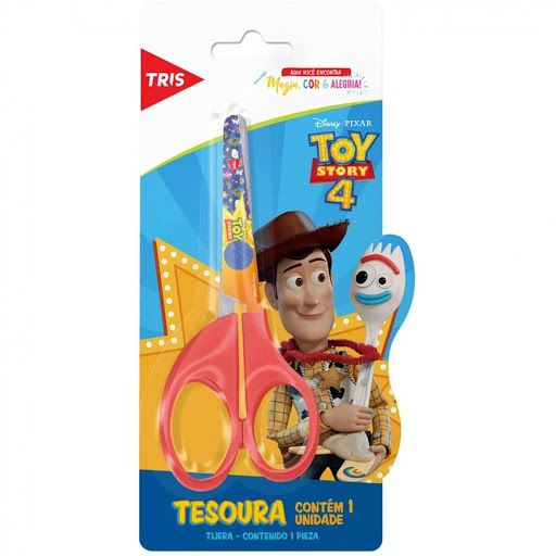 Tesoura Escolar Toy Story - Tris