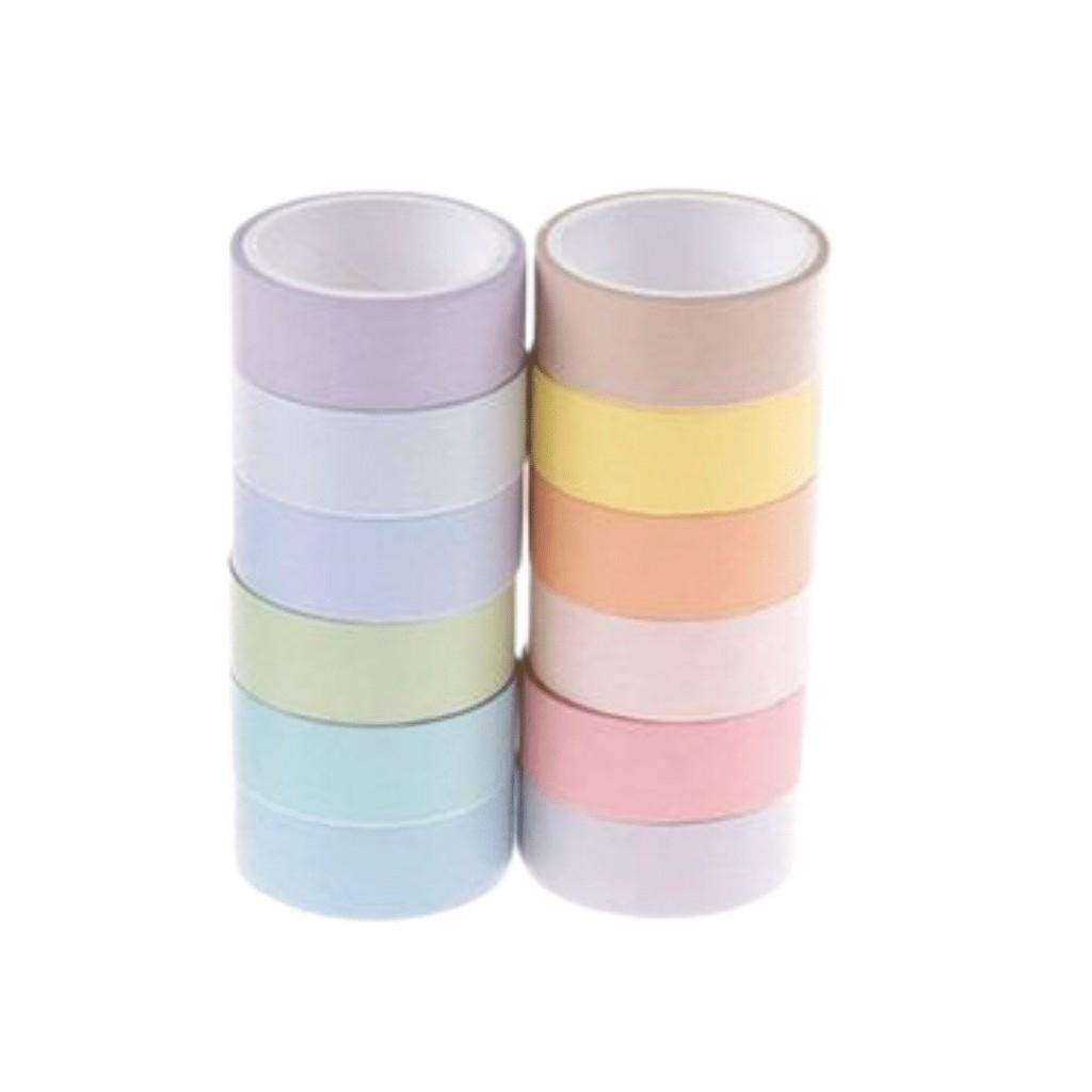 Washi Tape C/ Cores Variadas