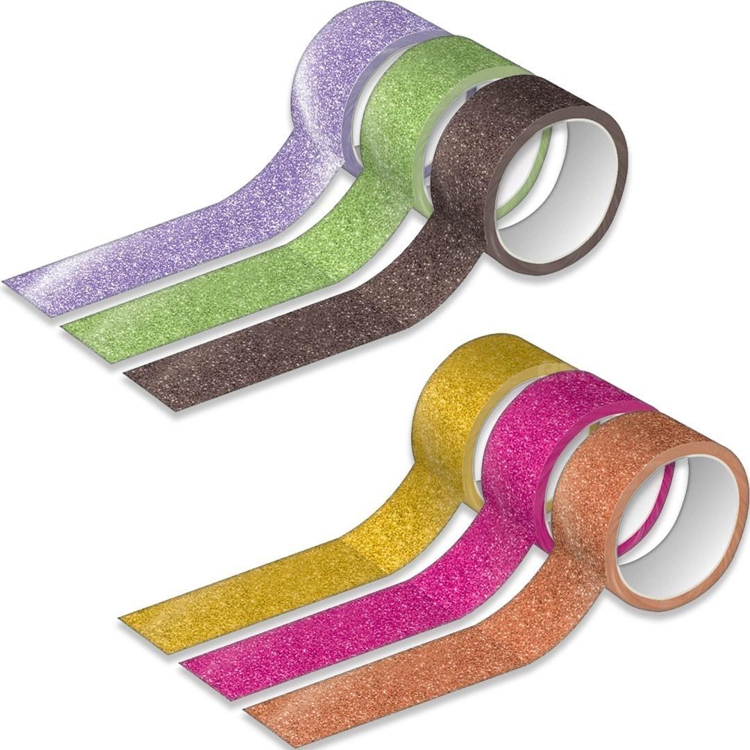 Washi Tape Com Glitter Tilibra