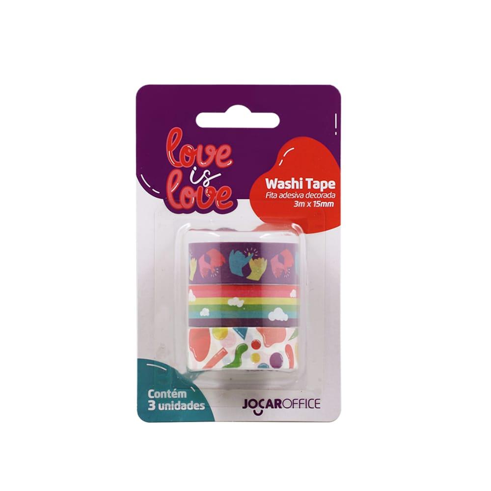 Washi Tape Love Is Love Mãos
