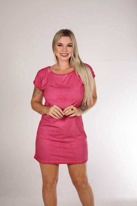 Vestido Up Zup Rosa Estonado