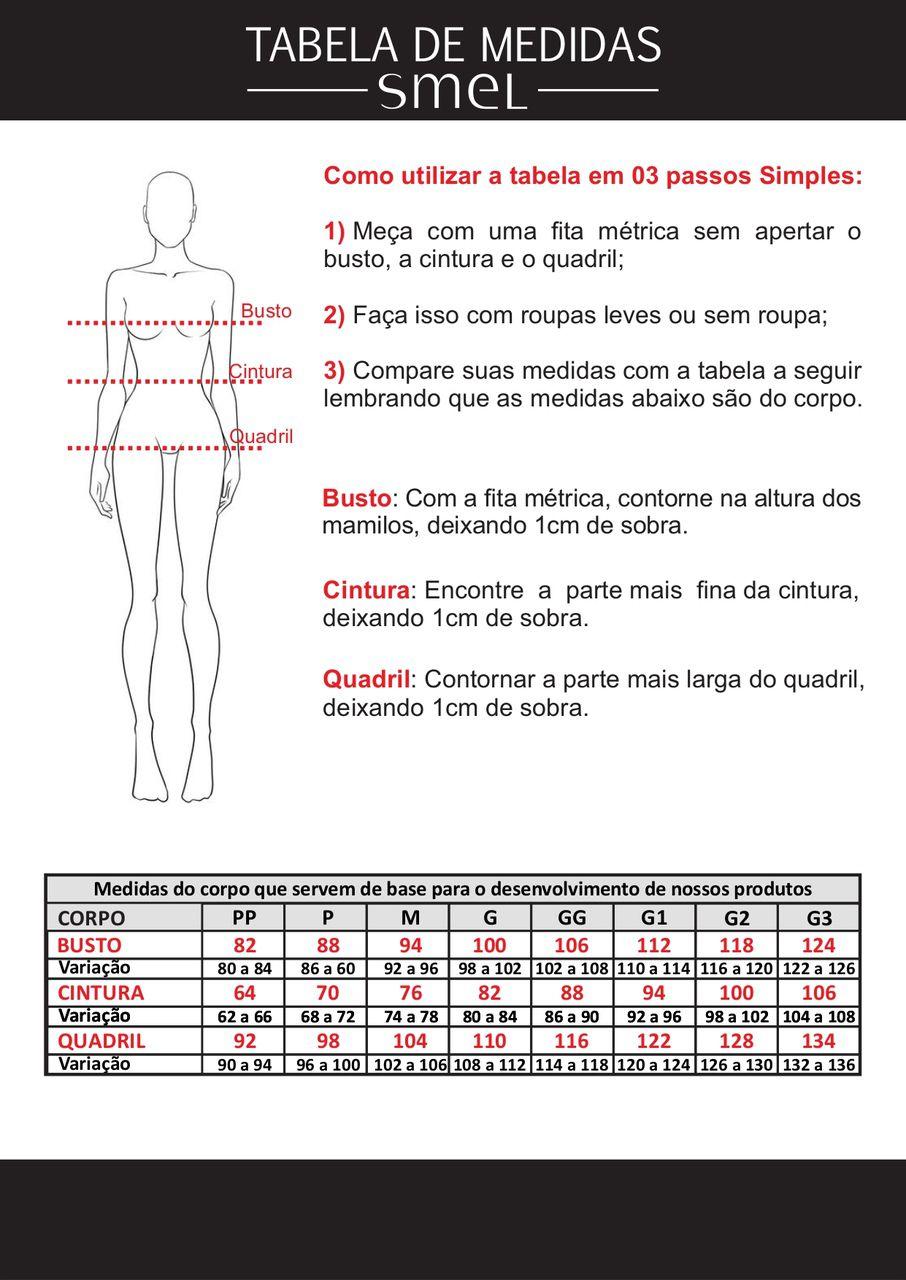Blusa De Malha Com Listras e Amarração Smel