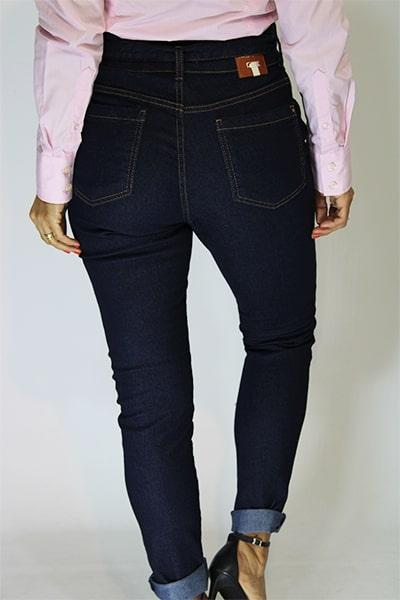 Calça Jeans Alfaiataria Clochard