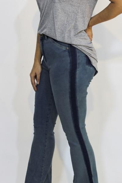 Calça Jeans Mignon Frale Rebite