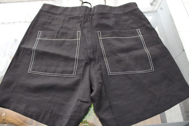 Shorts  Túnel Preto com Regulagem No Cós Smel