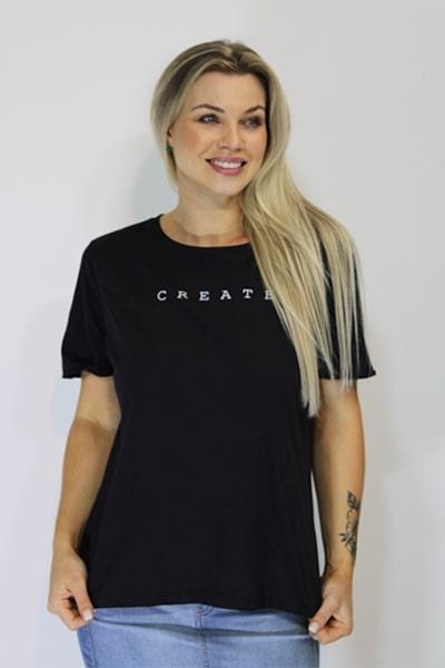 T-shirt UseUp Estampada Create