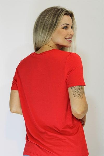 T-shirt Viscolycra Natural Island - VÁRIAS CORES