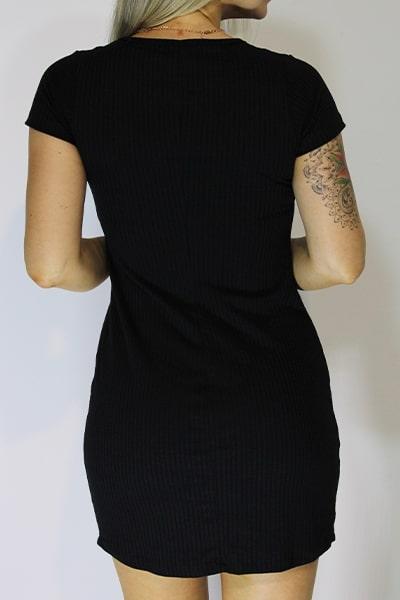 Vestido Tubinho UseUp Decote V - VÁRIAS CORES