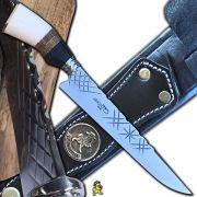 Faca Tradicional Grossa 4mm Inox 10 Pol