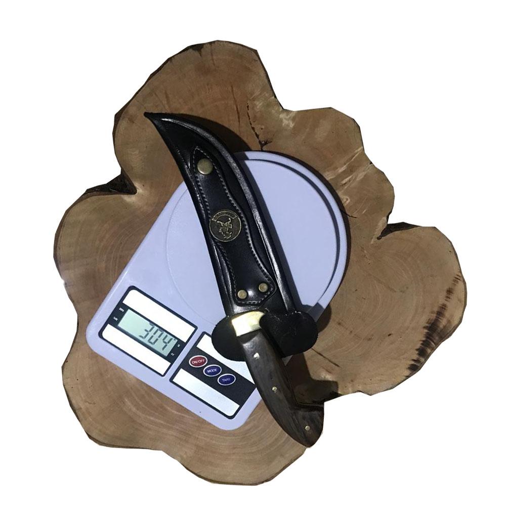 Faca Artesanal Corear Coreadeira Carbono 6 Pol