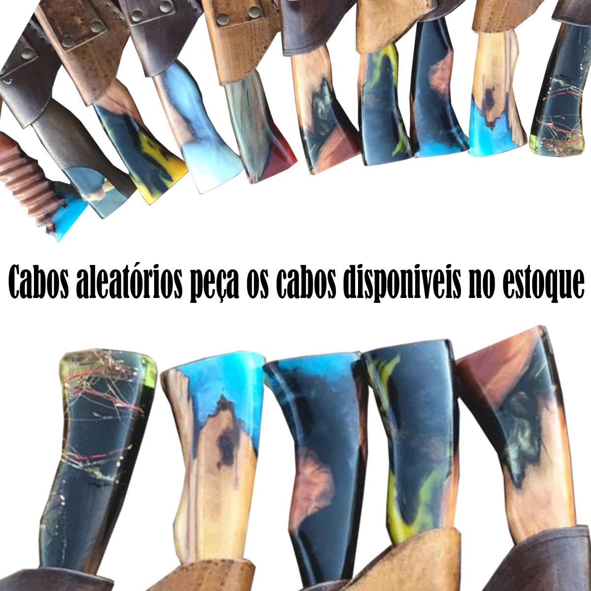 Faca Artesanal Tradicional Churrasco Cabo Híbrido Inox 8 Pol