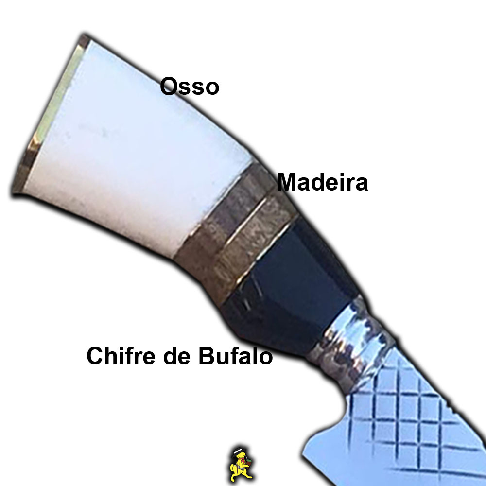 Kit Churrasco Faca 4mm 10 Pol Tridente Petisco Caixa Madeira