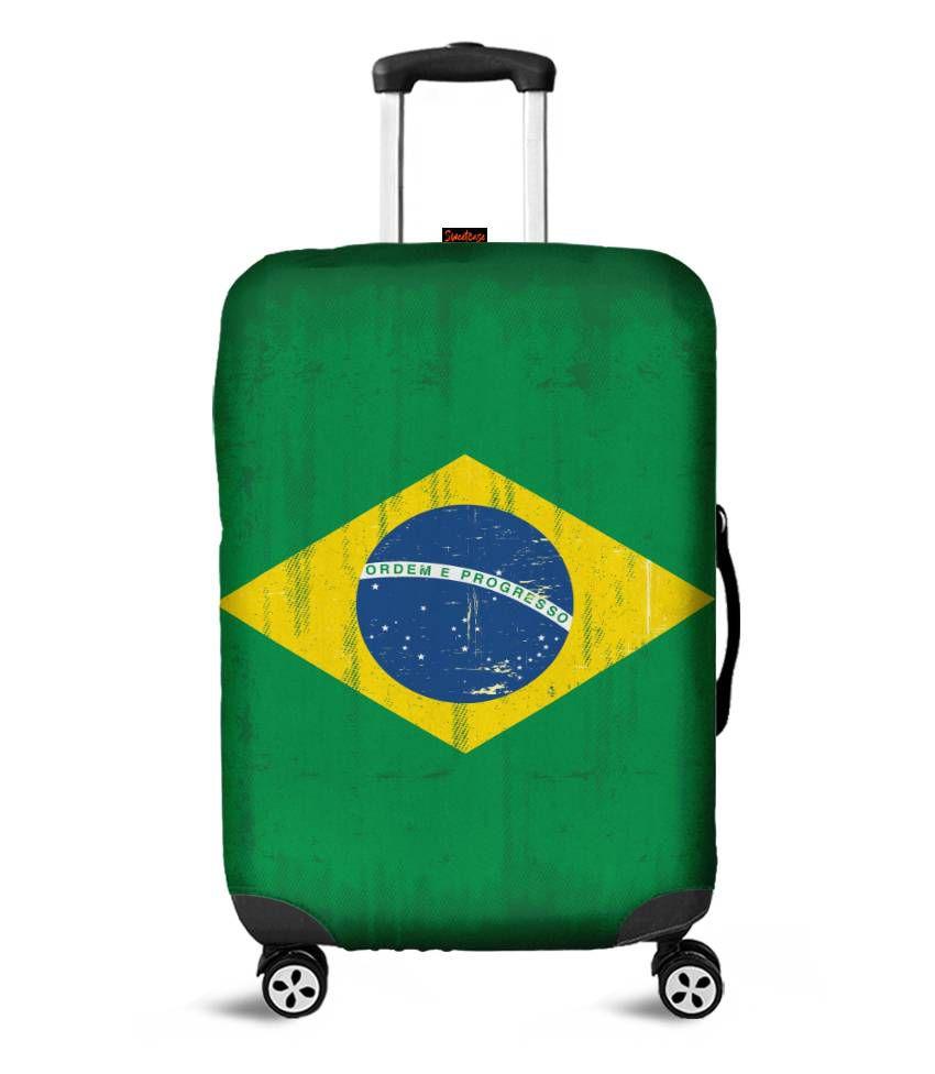 Capa para Mala Bandeira do Brasil