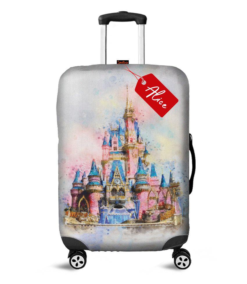 Capa para Mala Castelo da Disney - Personalizado