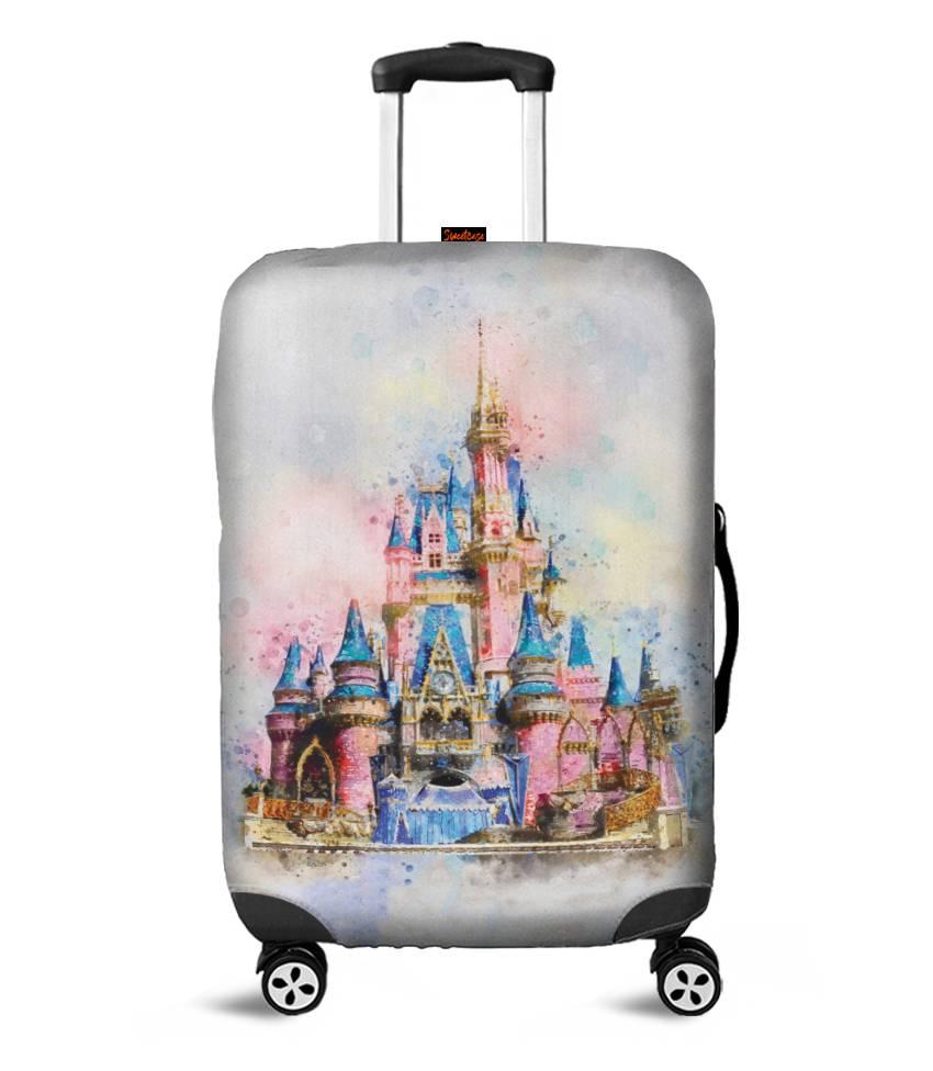 Capa para Mala Castelo da Disney - Pronta Entrega