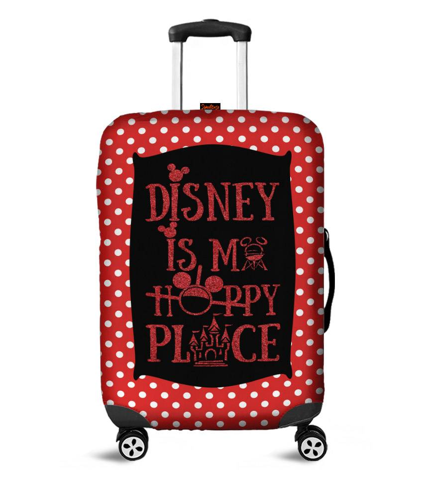 Capa para Mala Disney is my happy place