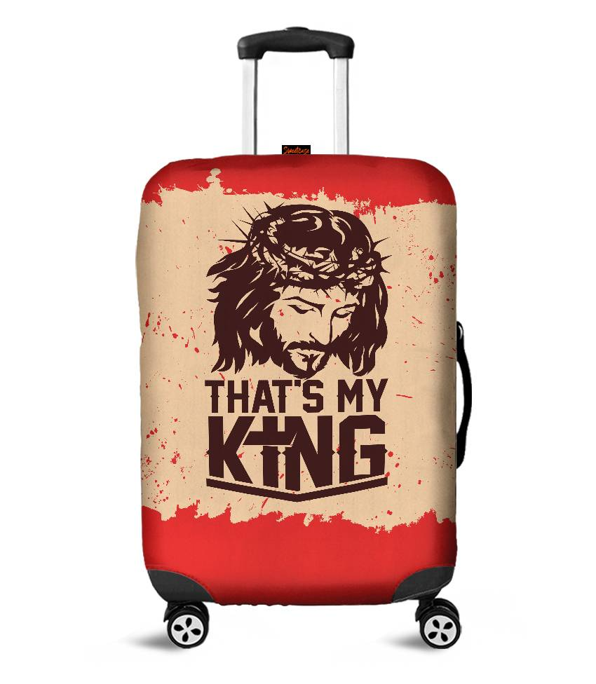 Capa para Mala Jesus é o meu Rei