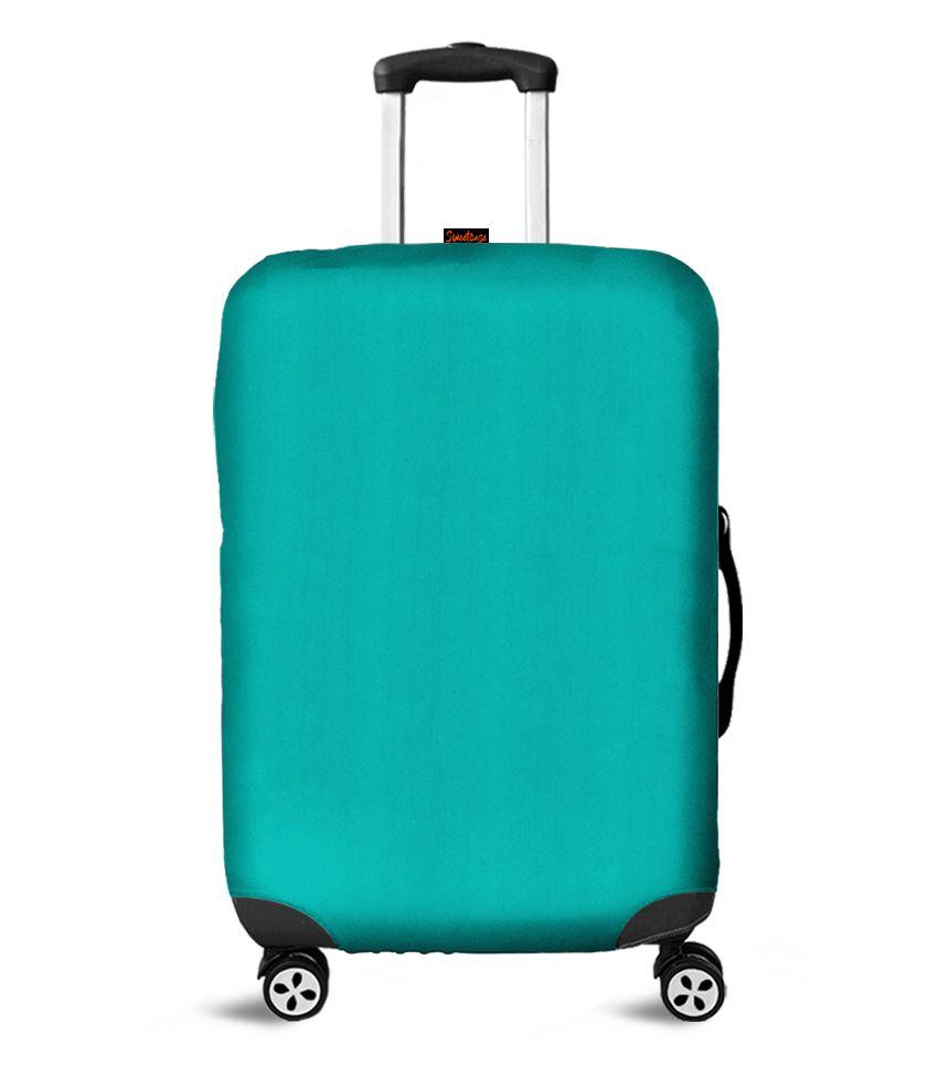 Capa para Mala Lisa Azul Tiffany