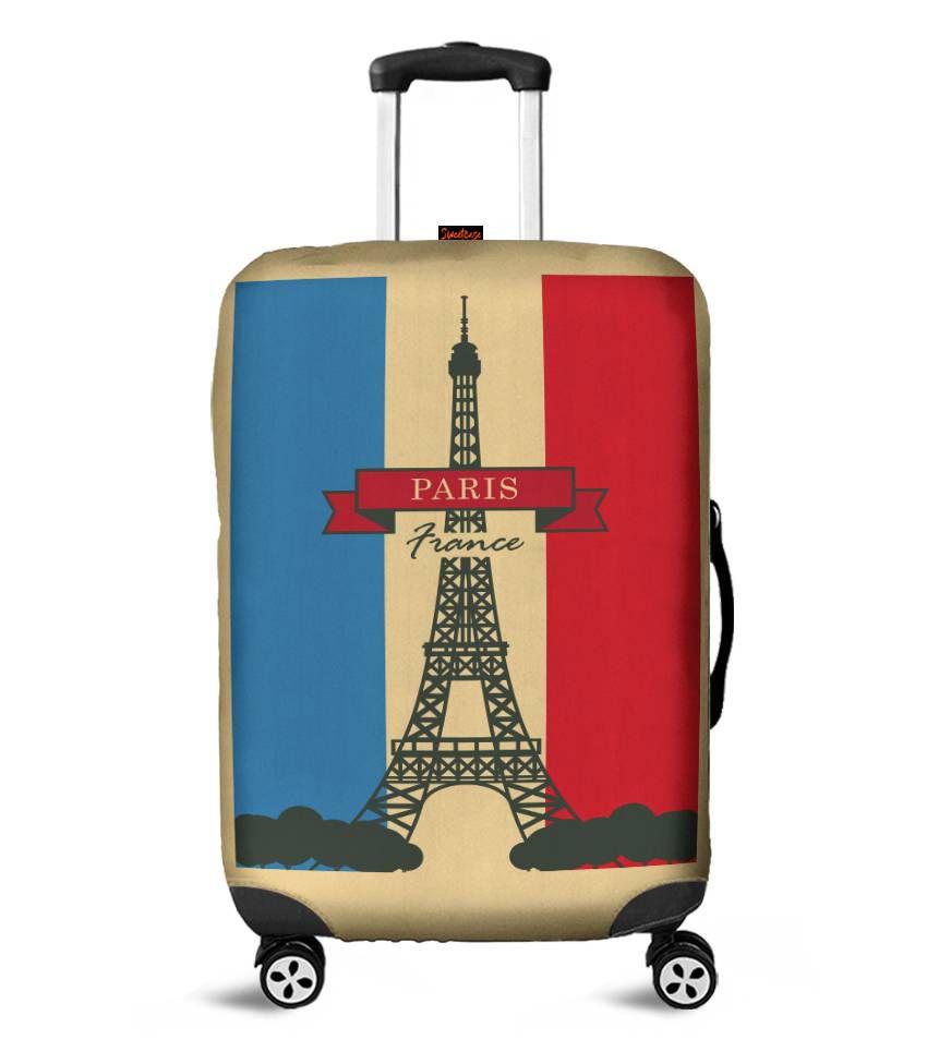 Capa para Mala Paris - Pronta Entrega