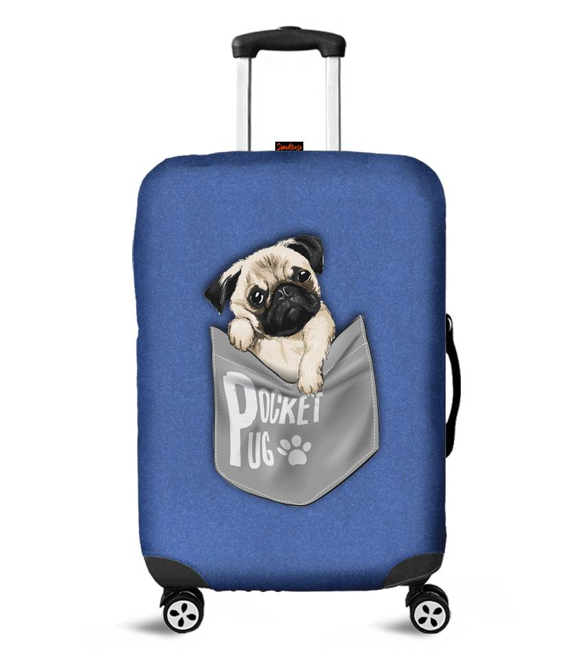 Capa para Mala Pocket Pug