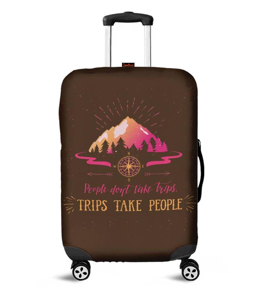 Capa para Mala Trip Take People