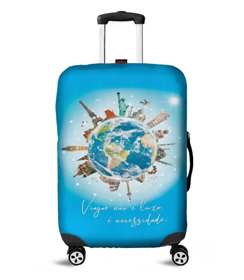 Capa para Mala Viajar é uma Necessidade
