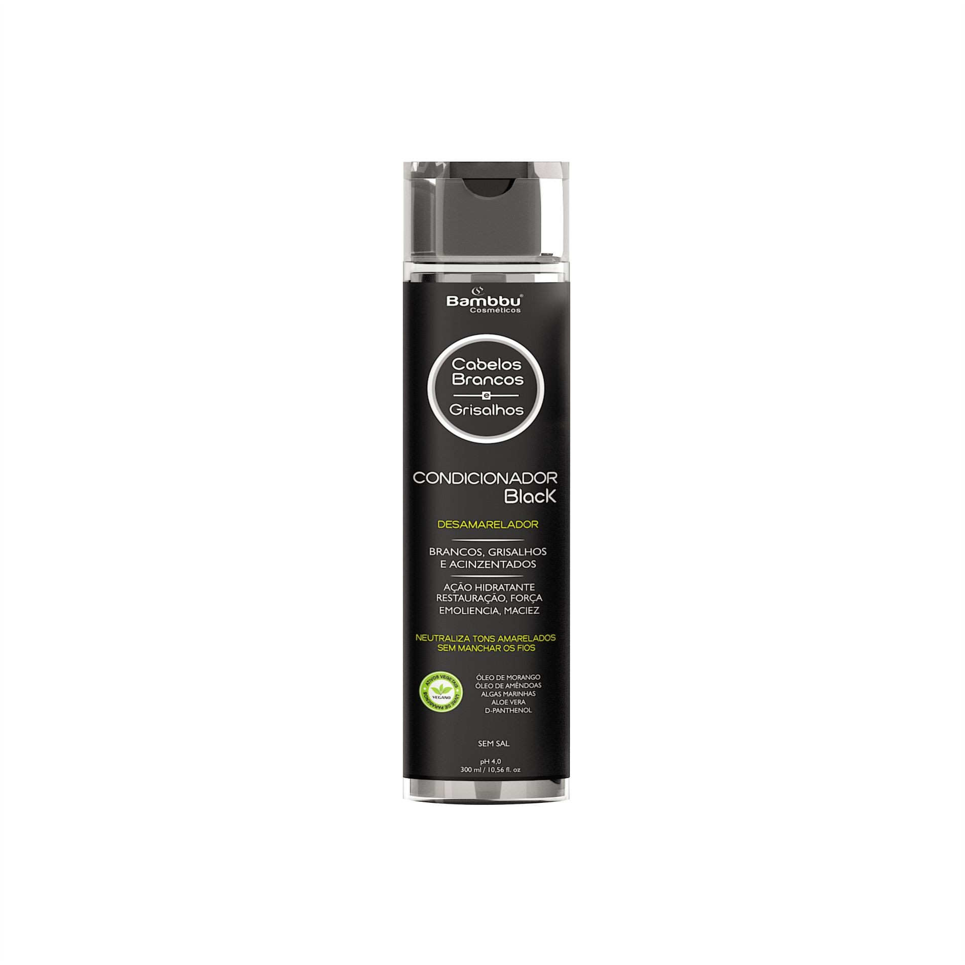 Condicionador Black Desamarelador - Cabelos Brancos e Grisalhos - 300ml