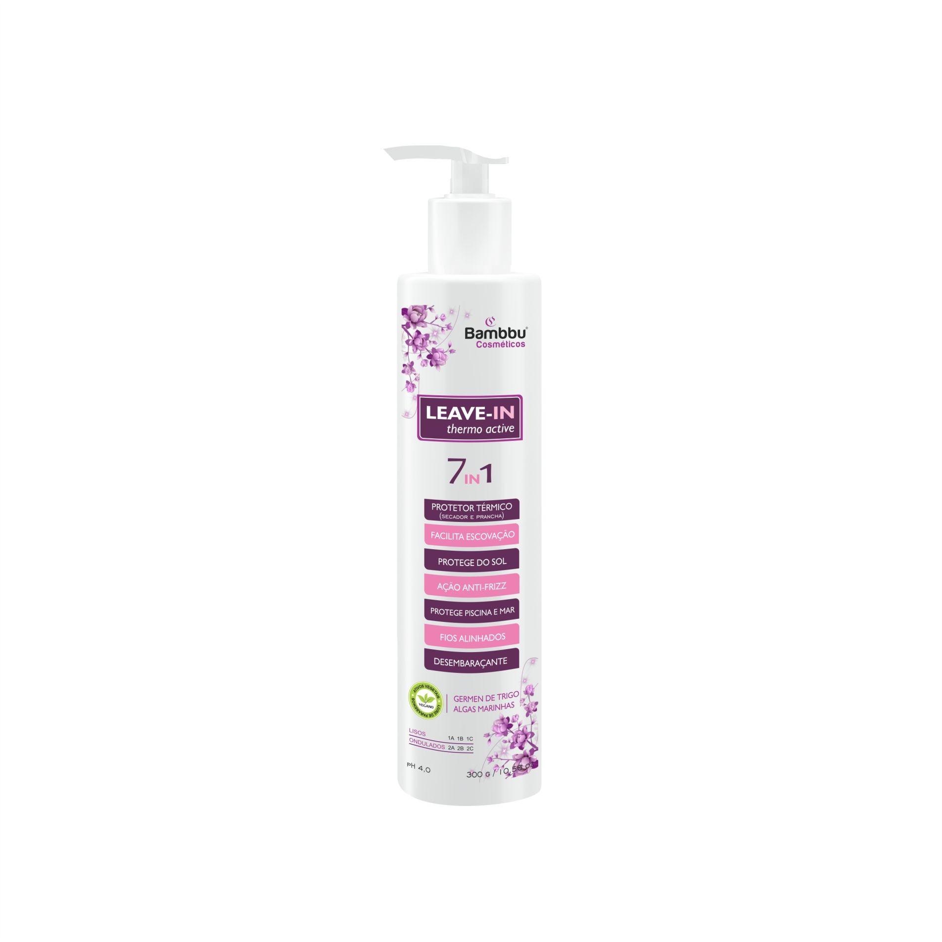 Leave-in - Thermo Active 7 in 1 (Protetor Térmico) - Todos os tipos de cabelos lisos e com cor