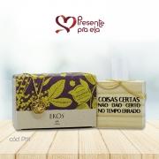 Kit Decorativo de Mesa com Sabonetes Variados e Colar Círculo Detalhes