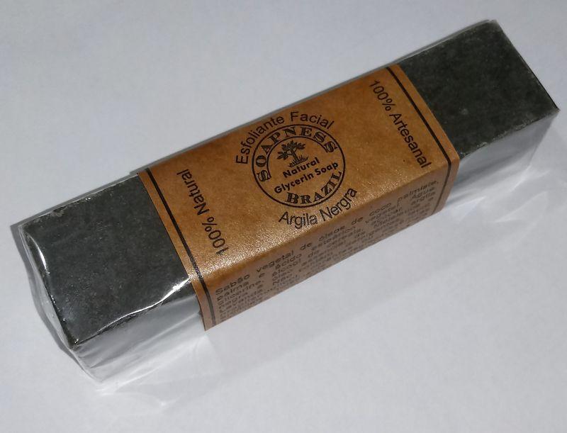 Barra de Argila Cinza para limpeza facial (10% de argila)