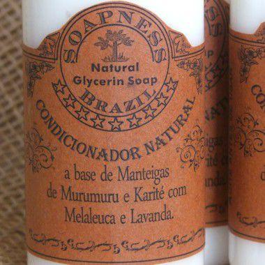 Condicionador Natural de Manteigas de Murumuru, Karité e óleo de Pracaxi