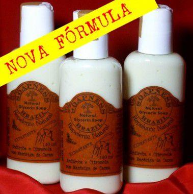 Repelente Natural de Andiroba e Citronela