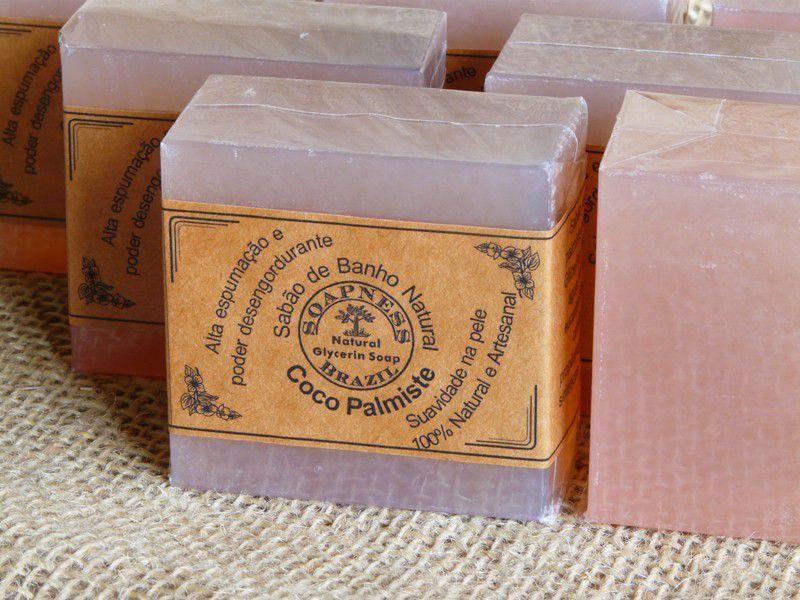 Sabão de Banho Rosa de Coco Palmiste