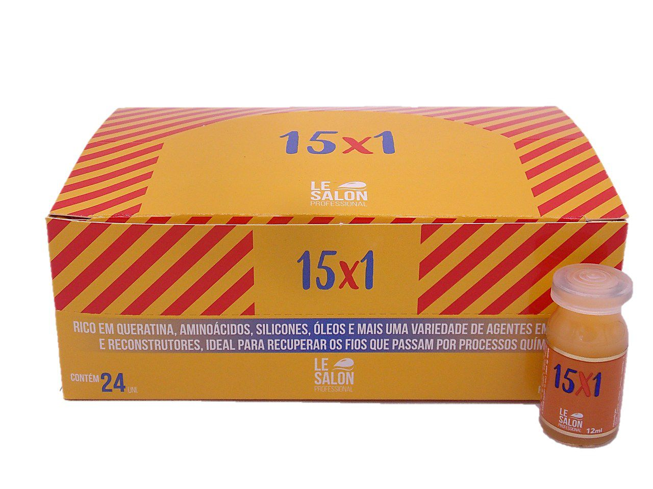 15x1 AMPOLA LE SALON - KIT C/ 24 UNIDADES