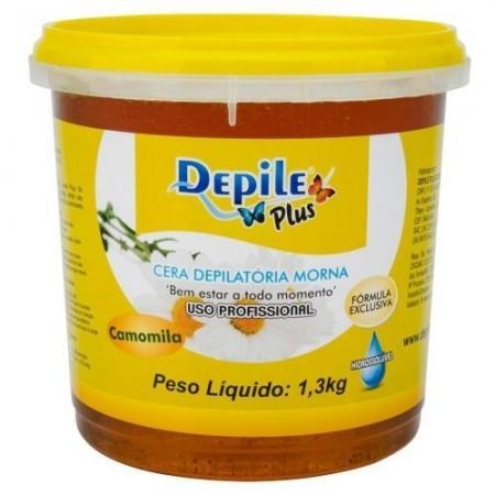 Cera Depilatória Camomila 1,3 KG Hidrossolúvel