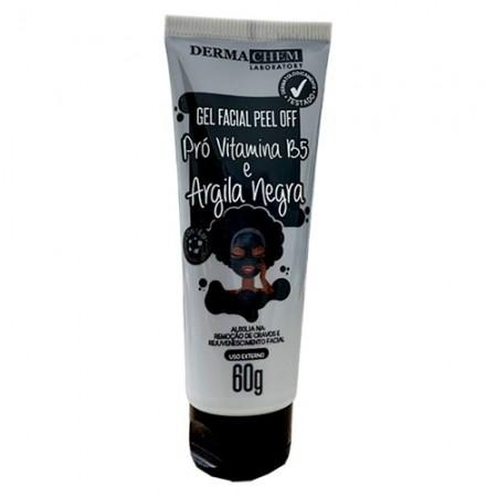 Gel Facial Peel Off Argila Negra 60G