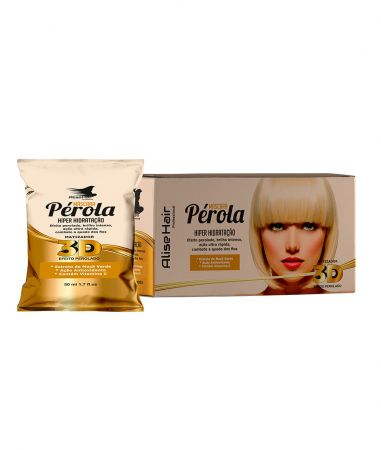 MÁSCARA PÉROLA ALISE HAIR 50ML - KIT C/ 24 UNIDADES