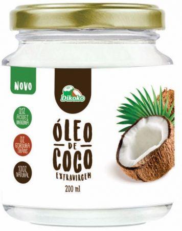 ÓLEO DE COCO EXTRAVIRGEM 200ML DIKOKO