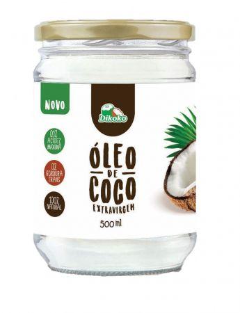 ÓLEO DE COCO EXTRAVIRGEM 500ML DIKOKO