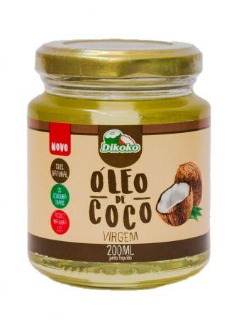 ÓLEO DE COCO VIRGEM 200ML DIKOKO