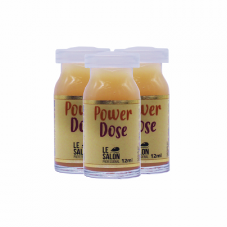 POWER DOSE AMPOLA LE SALON - KIT C/ 3 UNIDADES