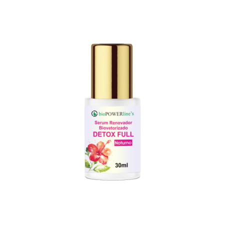 Serum Renovador Biovetorizado Detox Full 30ml