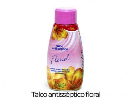 TALCO ANTISSÉPTICO FLORAL 150G BROTOEJOL