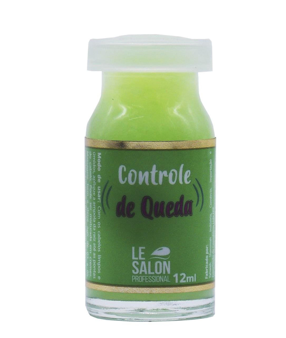 CONTROLE DE QUEDA AMPOLA LE SALON - KIT C/ 3 UNIDADES
