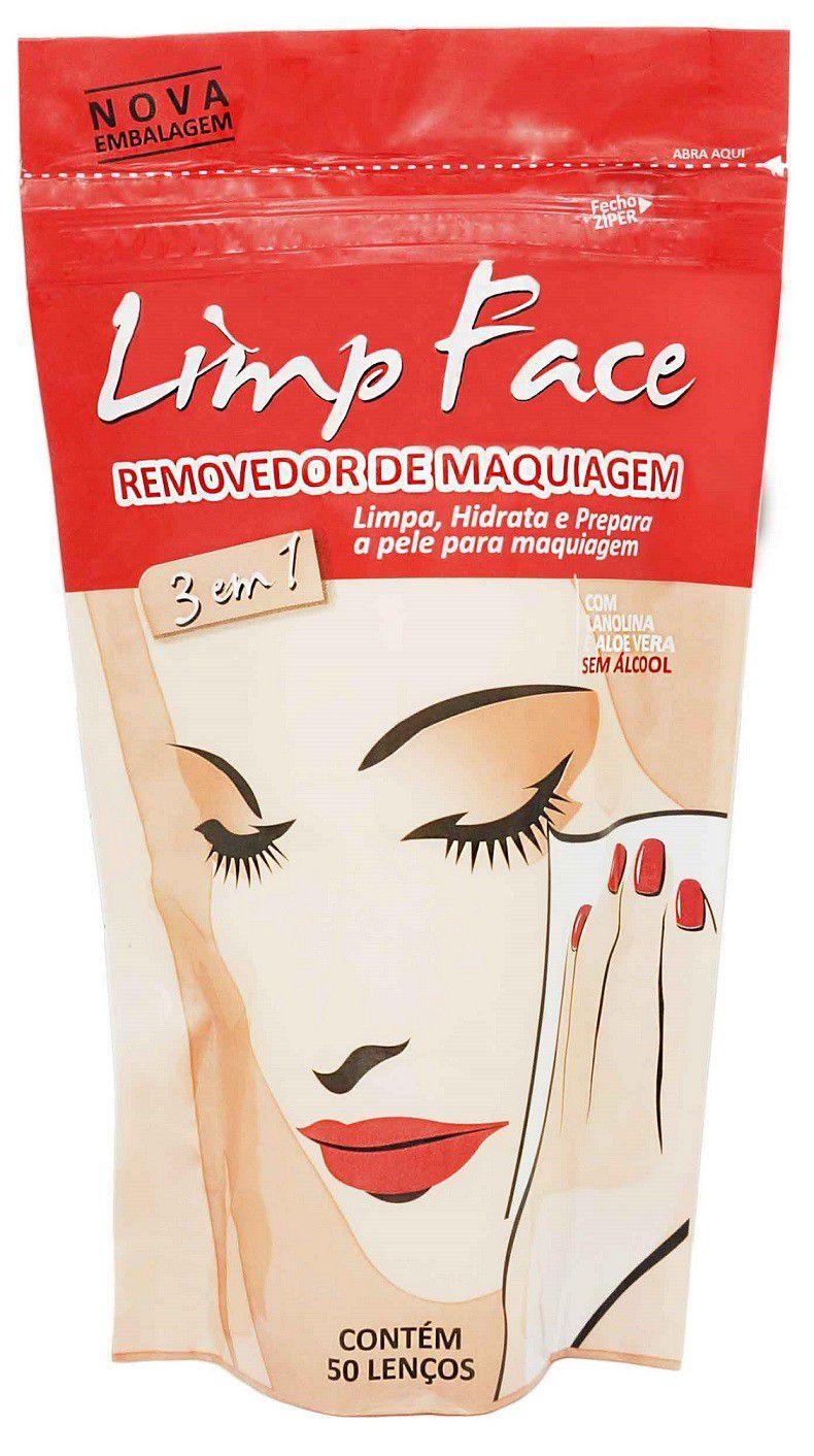 LIMP FACE - REMOVEDOR DE MAQUIAGEM