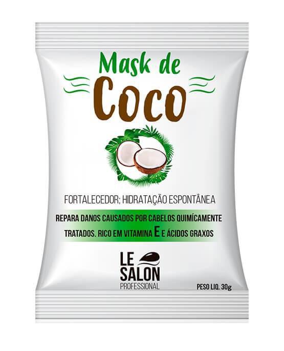 MÁSCARA PRO MASK DE COCO  - KIT C/ 12 UNIDADES