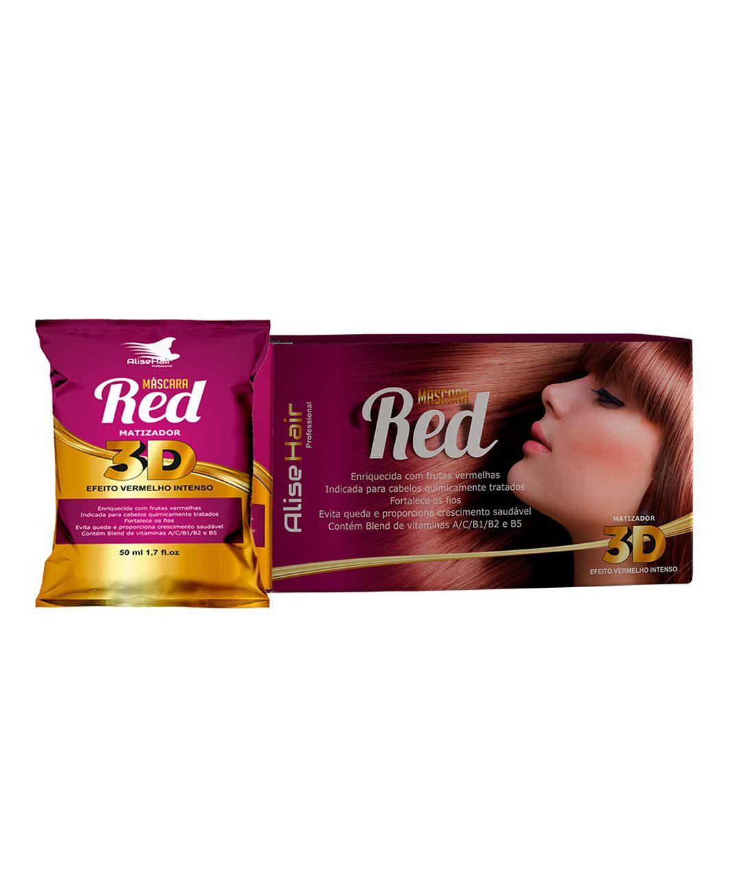 MATIZADOR RED 3D 50ML - KIT C/ 24 UNIDADES