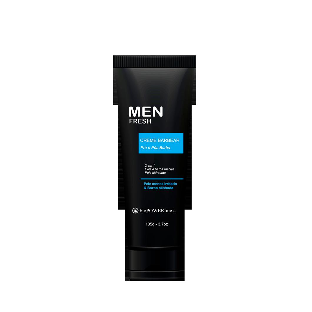 Men Fresh Creme para barba 2 em 1 - 110g