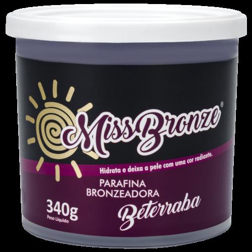 Parafina Bronzeadora Miss Bronze Beterraba 340G
